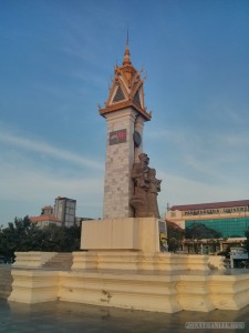 Phnom Penh - Vietnam friendship monument 1