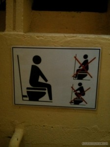 how to use toilet
