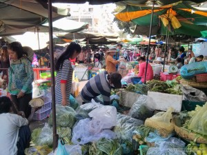 Phnom Penh - local market