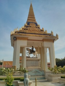 Phnom Penh - royal palace monument