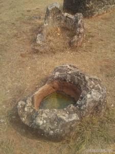 Phonsavan - Field of Jars broken