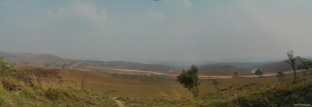 Phonsavan - panorama Field of Jars 2