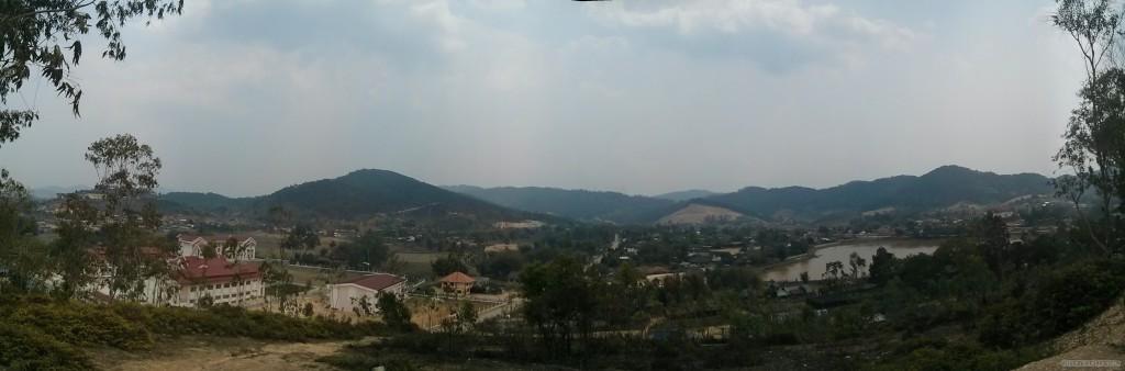 Phonsavan - panorama city view