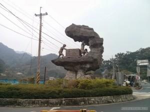 Pingxi - Jingtong mining statue