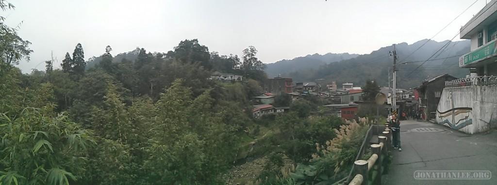 Pingxi - Jingtong panorama scenery