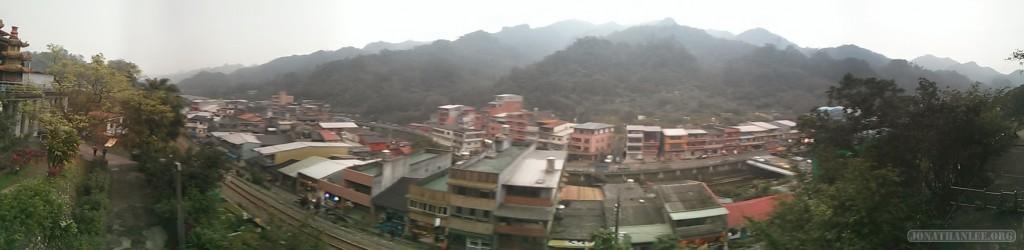 Pingxi panorama scenery