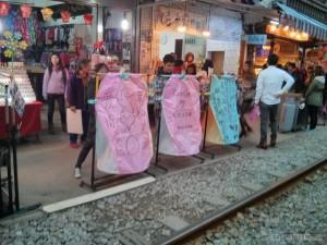 Pingxi - sky lantern marking 2