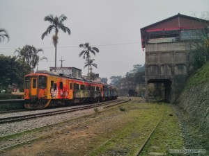 Pingxi - train and station