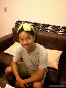 Pomelo - pomelo hat portrait