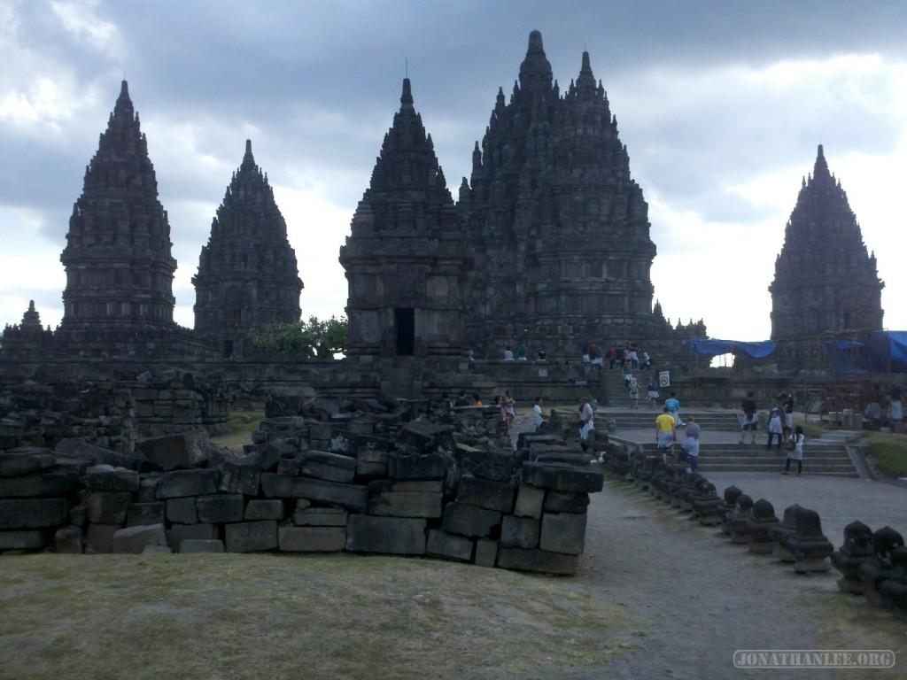 Prambanan - landscape 1