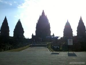 Prambanan - landscape 4