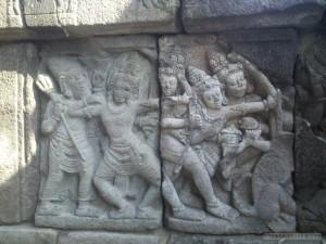 Prambanan - mural 1