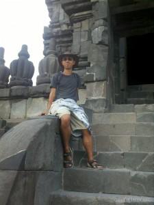Prambanan - temple portrait 1