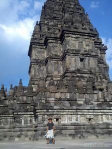 Prambanan - temple portrait 2