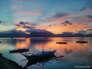 Puerto Princesa - Baywalk park sunset 2