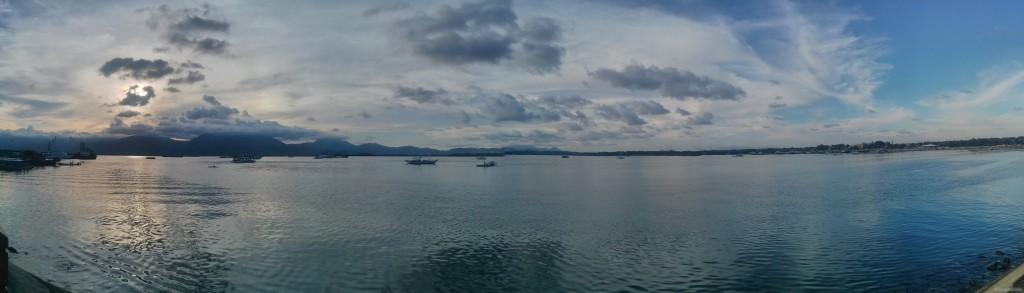 Puerto Princesa - panorama Baywalk park