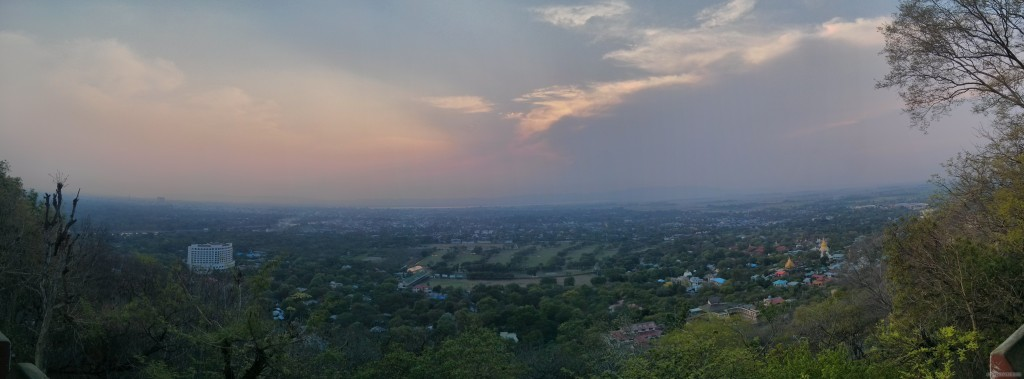 Pyin U Lwin - panorama view 1