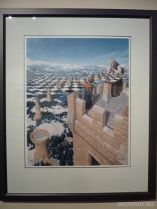 Queenstown - Puzzling World painting 1