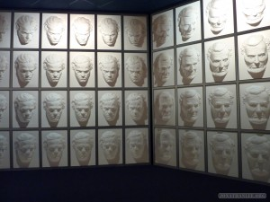 Queenstown - Puzzling World wall of faces 1