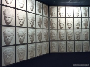 Queenstown - Puzzling World wall of faces 2