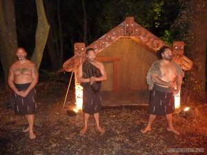 Rotorua - Mauri village warriors
