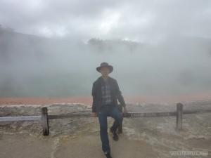 Rotorua - Wai o Tapu Champagne Pool