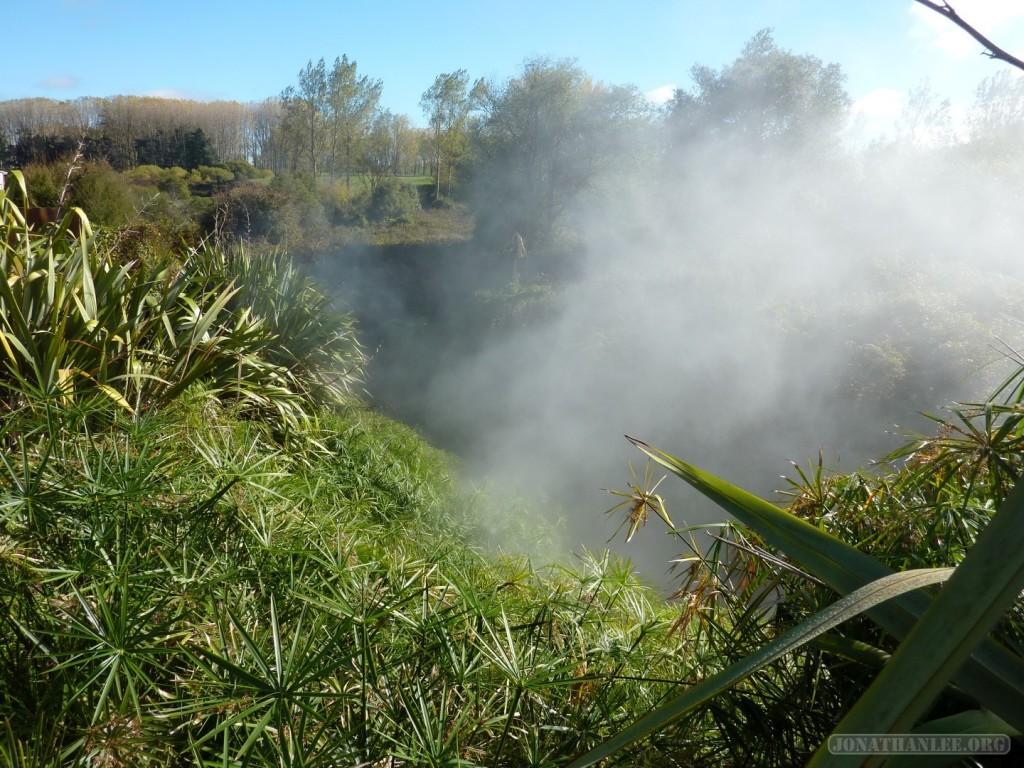 Rotorua - thermal vent