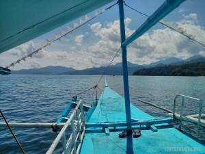 Sabang - boat to underground river 1