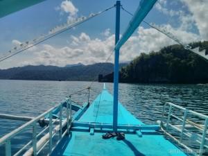 Sabang - boat to underground river 2