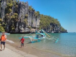 Sabang - disembarking boat