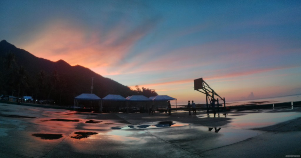 Sabang - panorama sunset