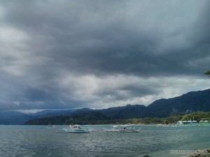 Sabang - storm approaching 1