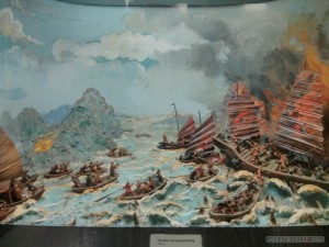 Saigon - Vietnamese history museum battles