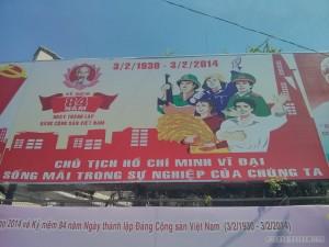 Saigon - propoganda poster