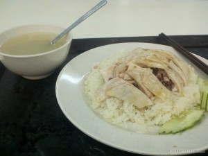 Singapore - chicken and rice