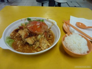 chili crab before