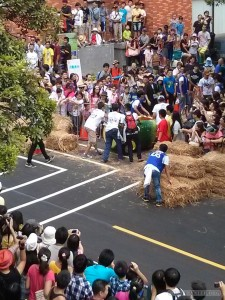 Soapbox race - crashed cart watermelon