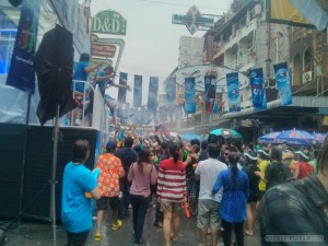 Songkran in Bangkok - Khao San Road stage 2