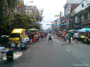 Songkran in Bangkok - Khao San approach 2
