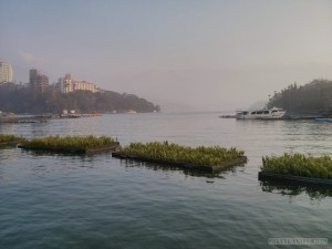 Sun Moon Lake - floating garden 2