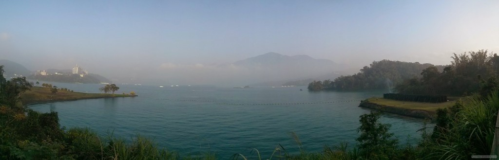 Sun Moon Lake - panorama scenery 6