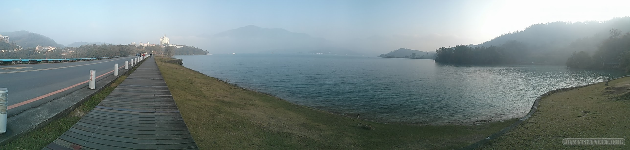 Sun Moon Lake - panorama scenery 7