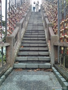 Sun Moon Lake - steps of the year trail up