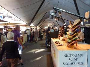 Sydney - Sydney bridge market
