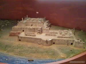 Tainan - Anping fort model