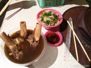 Tainan - sheep bone marrow