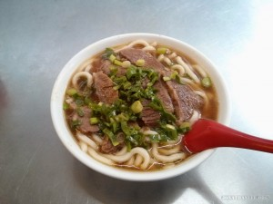 Taipei - beef noodles 3