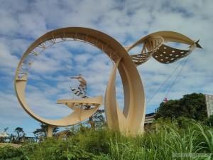 Taitung - Donghe bridge art 1