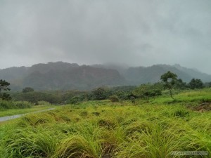 Taitung - in the rain