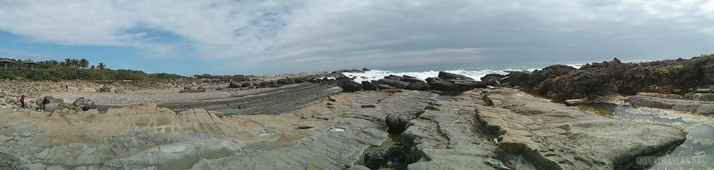 Taitung - panorama rocks